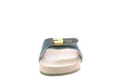 SCHOLL - PESCURA FLAT 647591 Iridescent Textile silver preview 3