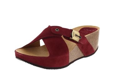 SCHOLL - Pantoletten ELON 2.0 CUIR SUEDE 708481 - red preview 1