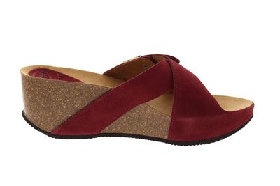 SCHOLL - Pantoletten ELON 2.0 CUIR SUEDE 708481 - red preview 4