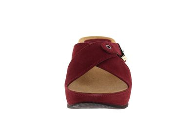 SCHOLL - Pantoletten ELON 2.0 CUIR SUEDE 708481 - red preview 3