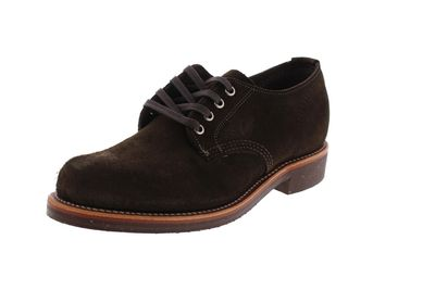"CHIPPEWA - 4"" SERVICE OXFORD 1901M75 E chocolate moss"