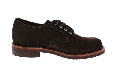 "CHIPPEWA - 4"" SERVICE OXFORD 1901M75 E chocolate moss preview 4"