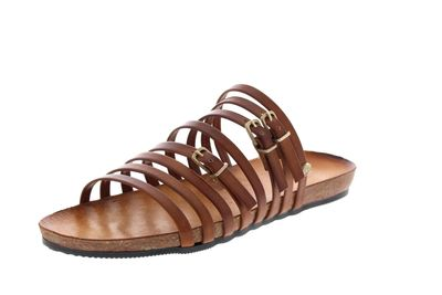 FRED DE LA BRETONIERE Pantoletten 170010067 light brown