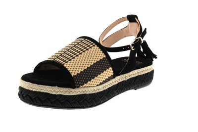 FRED DE LA BRETONIERE Sandaletten 152010070 black beige preview 1