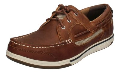 SEBAGO in Übergröße - TRITON THREE EYE - cinnamon