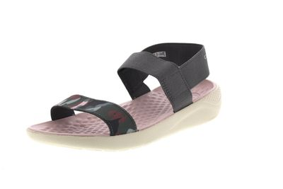 CROCS reduziert LiteRide GRAPHIC SANDAL charcoal stucco preview 1
