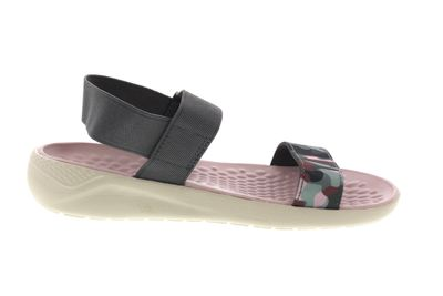 CROCS reduziert LiteRide GRAPHIC SANDAL charcoal stucco preview 4