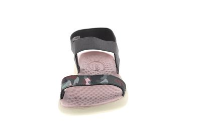 CROCS reduziert LiteRide GRAPHIC SANDAL charcoal stucco preview 3