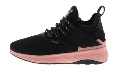 PALLADIUM - Sneakers AX_EON LACE KNIT - black rose tan preview 2