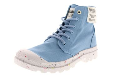 PALLADIUM Damen - Boots PAMPA HI ORGANIC - dusk blue preview 1