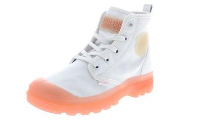 PALLADIUM Damen - Boots PAMPALICIOUS - white blossom