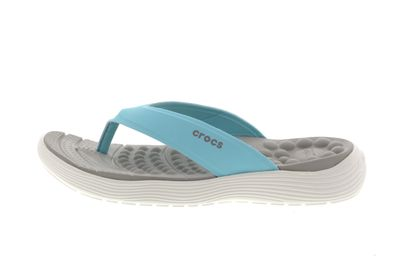 CROCS Schuhe - Zehentrenner REVIVA FLIP ice blue white preview 2