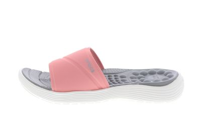 CROCS Schuhe - Zehentrenner REVIVA SLIDE - melon white preview 2