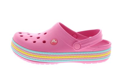 CROCS CROCBAND SPORT CORD CLOG Kids Juniors pink lemonade preview 2