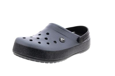 CROCS Damenschuhe CROCBAND PRINTED CLOG metallic black