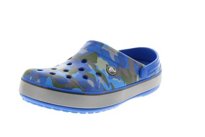 CROCS - CROCBAND PRINTED CLOG bright cobalt army green