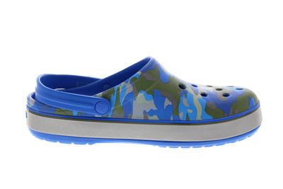 CROCS - CROCBAND PRINTED CLOG bright cobalt army green preview 4