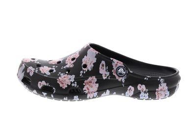 CROCS Damenschuhe FREESAIL PRINTED CLOG - floral black preview 2