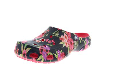 CROCS Damenschuhe FREESAIL PRINTED CLOG - tropical floral poppy