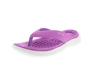 CROCS - Zehentrenner REVIVA FLIP - violet white preview 1