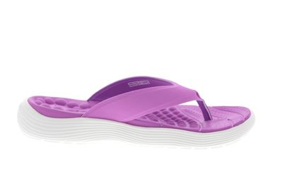CROCS - Zehentrenner REVIVA FLIP - violet white preview 4