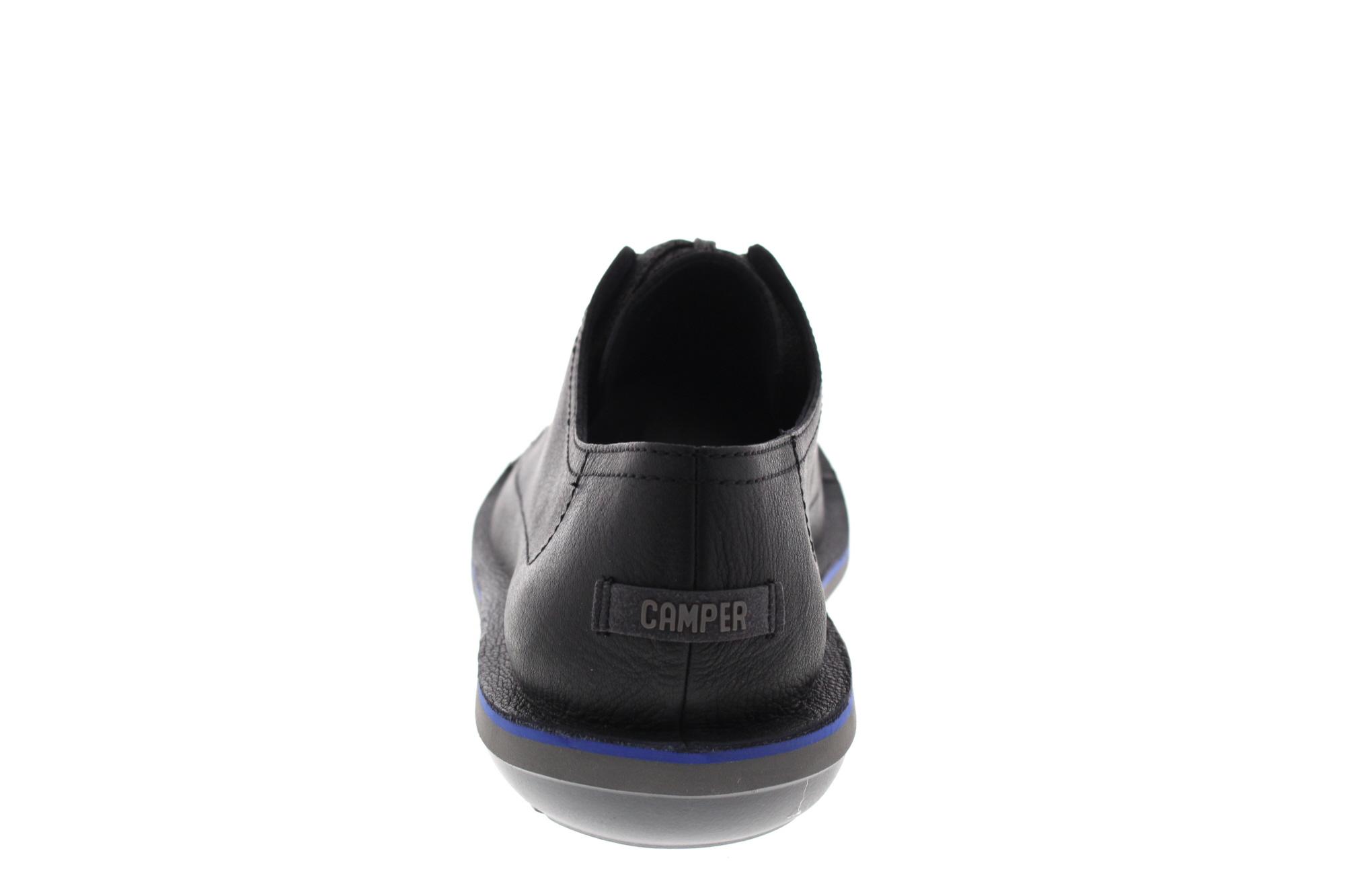 Détails sur Camper Chaussures Homme Beetle K100307 005 Sellafix Noir