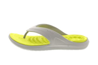 CROCS - Zehentrenner REVIVA FLIP - pearl white citrus preview 2