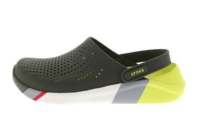 CROCS reduziert - LiteRide Colorblock Clog - army green preview 2