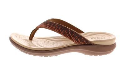 CROCS Schuhe reduziert - CAPRI DIAMANTE FLIP - bronze preview 2