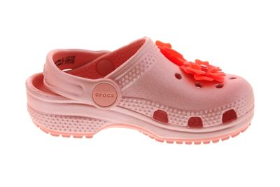 CROCS Kinderschuhe CLASSIC VIVID BLOOMS Clog Kids melon preview 4