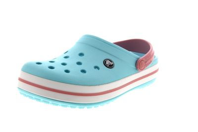 CROCS Schuhe reduziert  - Clogs CROCBAND ice blue white preview 1