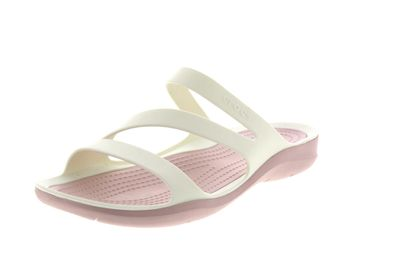 CROCS Damenschuhe - SWIFTWATER SANDAL - white rose dust