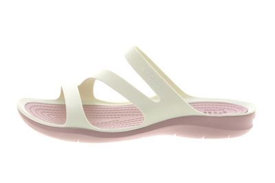 CROCS Damenschuhe - SWIFTWATER SANDAL - white rose dust preview 2