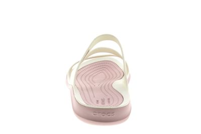 CROCS Damenschuhe - SWIFTWATER SANDAL - white rose dust preview 5