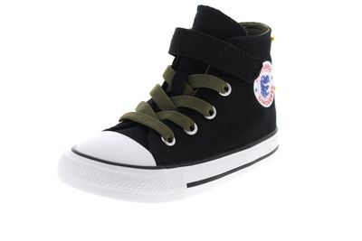 CONVERSE Kleinkinder CTAS 1V HI  765351C black field preview 1