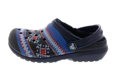 CROCS Kinderschuhe - Classic Printed Lined Clog - navy preview 2