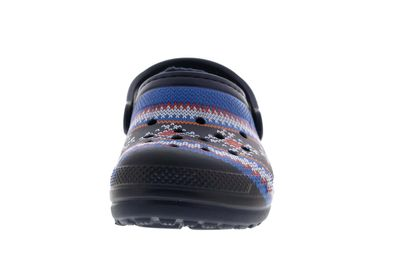 CROCS Kinderschuhe - Classic Printed Lined Clog - navy preview 3
