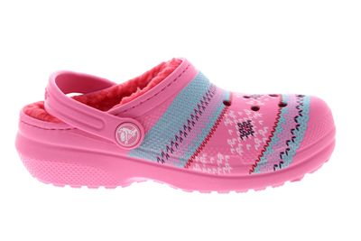 CROCS Kinder Classic Printed Lined Clog - pink lemonade preview 4