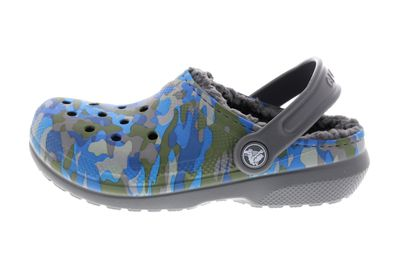 CROCS Kinderschuhe  Classic Printed Lined Clog charcoal preview 2
