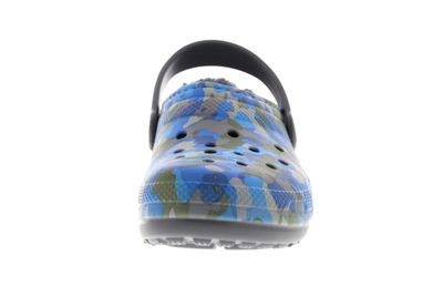 CROCS Kinderschuhe  Classic Printed Lined Clog charcoal preview 3