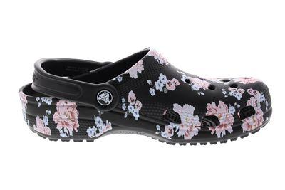 CROCS Damenschuhe - CLASSIC PRINTED CLOG - floral black preview 4
