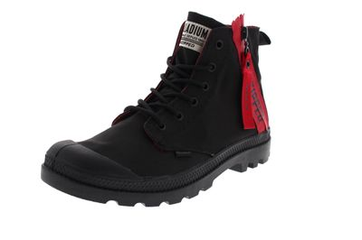 PALLADIUM Herrenschuhe - PAMPA UNZIPPED 76144 - black