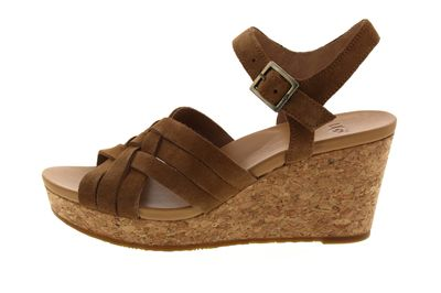 UGG Damen - Keil-Sandalette UMA 1019892 - chestnut preview 2