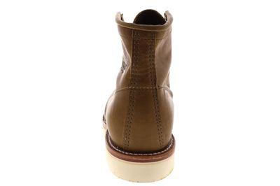 "CHIPPEWA 6"" INCH BALDWIN MOCC TOE BOOTS 1901A90 D tan  preview 5"