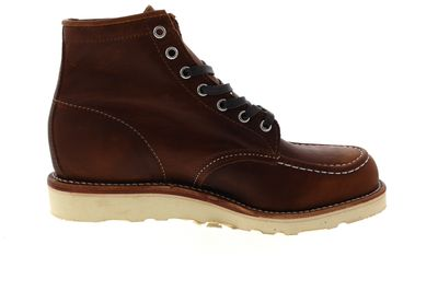 "CHIPPEWA 6"" INCH BRENTWOOD MOCC TOE BOOTS 1901A91 D brown preview 4"