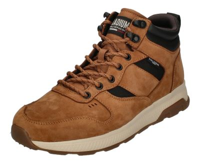 PALLADIUM Herren - AX_EON ARMY R MID LEATHER - mahogany