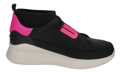 UGG - NEUTRA NEON SNEAKER 1110084 - black neon pink preview 4