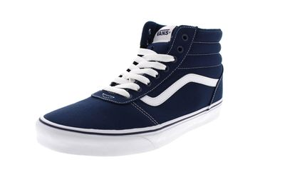VANS in Übergrößen - WARD HI (Canvas) - dress blues