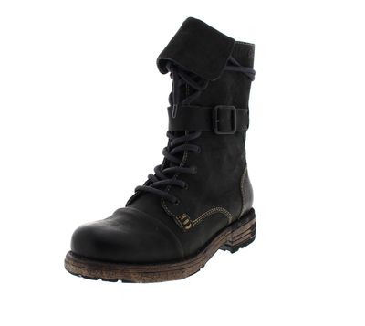 YELLOW CAB Damenschuhe - Boots UTAH 1-A - black preview 1