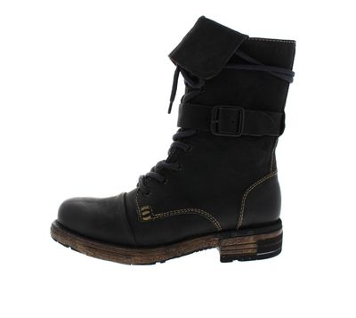 YELLOW CAB Damenschuhe - Boots UTAH 1-A - black preview 2